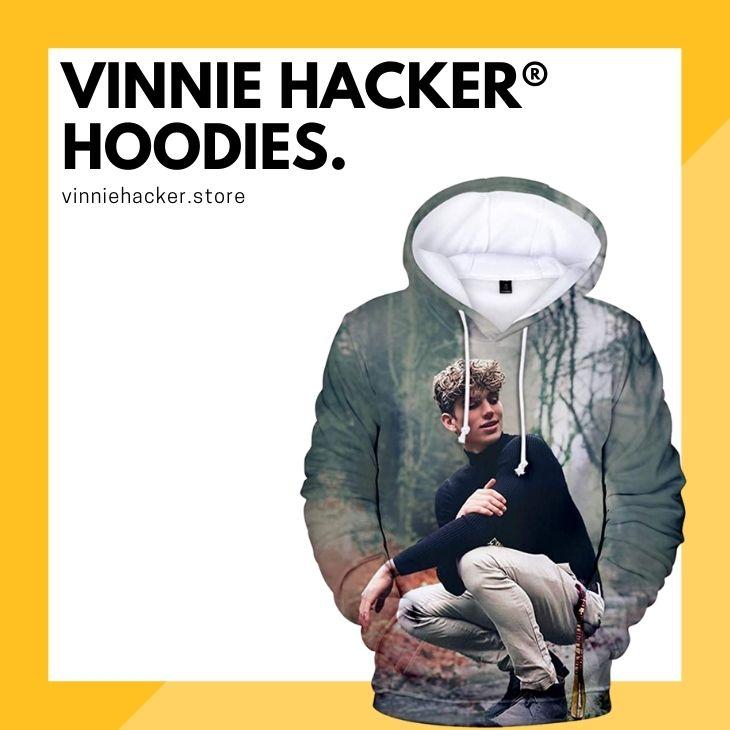 Vinnie Hacker Hoodies