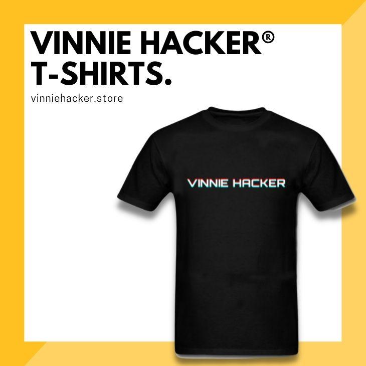 Vinnie Hacker T-Shirts