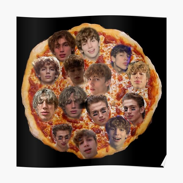 Vinnie x Pizza Poster RB1208 product Offical Vinnie Hacker Merch