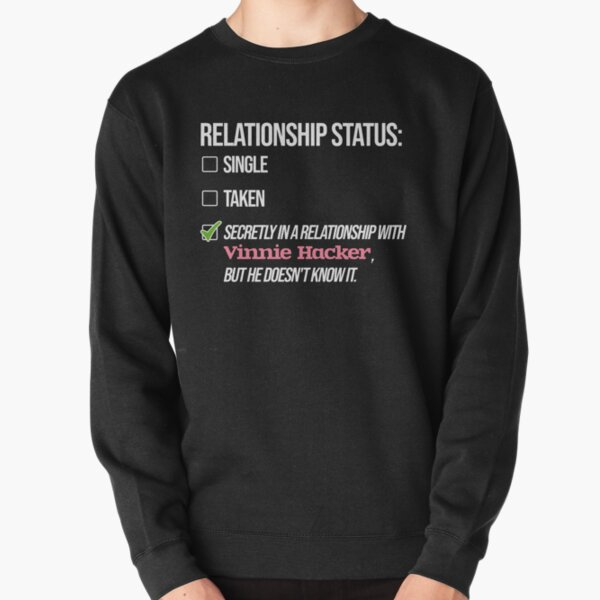 Relationship with Vinnie Hacker Pullover Sweatshirt RB1208 product Offical Vinnie Hacker Merch