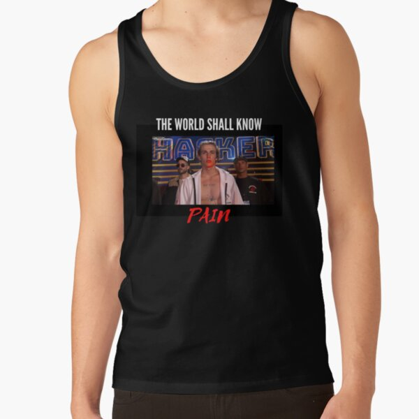 The World Shall Know Pain - Vinnie Hacker - Naruto Reference Tank Top RB1208 product Offical Vinnie Hacker Merch