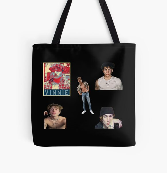 Vinnie Hacker Pack of 5  All Over Print Tote Bag RB1208 product Offical Vinnie Hacker Merch
