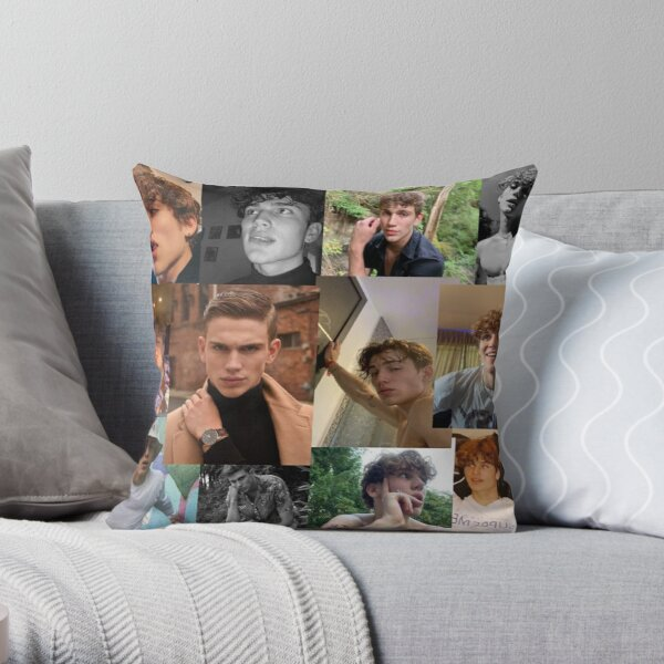 Vinnie Hacker collage Throw Pillow RB1208 product Offical Vinnie Hacker Merch