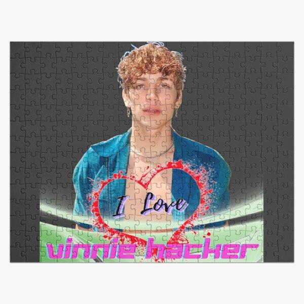 I Love Vinnie Hacker. Vinnie Hacker The Tiktoker.  Jigsaw Puzzle RB1208 product Offical Vinnie Hacker Merch