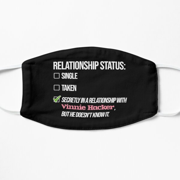 Relationship with Vinnie Hacker Flat Mask RB1208 product Offical Vinnie Hacker Merch
